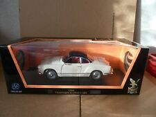 1966 VOLKSWAGEN KARMANN GHIA (WHITE) by ROAD SIGNATURE DIECAST MODEL 1:18 SCALE