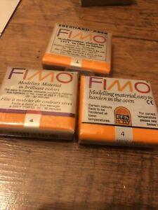 Fimo Modelling Clay Orange No. 4
