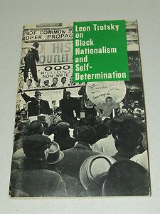 Vintage 1st Ed. LEON TROTSKY Black Nationalism and Self Determination 1967 Merit