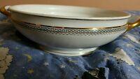 Epiag Parthenon Porcelain Serving Bowl/Czechoslovakia bone china