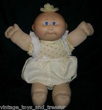 VINTAGE CABBAGE PATCH KIDS BABY DOLL BALD GIRL OR BOY STUFFED ANIMAL PLUSH TOY B