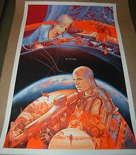 Martin Ansin Elysium Movie Poster Mondo Print Numbered of 380 man of steel