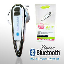 Universal Wireless Stereo [Voice+Music] Bluetooth Headset For iPhone Smart Phone