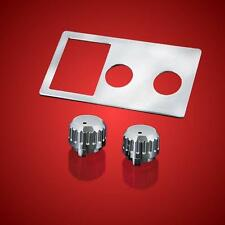 CB Radio Chrome Accent and Knobs Combo for Honda Goldwing GL1500 (2-332 & 2-526)