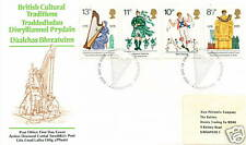 GB FDC British Cultural Traditions 4.8.1976
