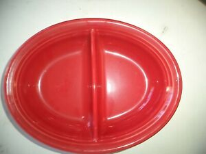Fiesta Divided red dish
