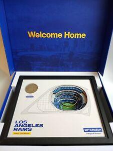 2020 Los Angeles Rams Season Ticket Member Gift Box - SoFi Stadium - Free Ship!