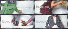 Islanda 2012 Abiti/Scarpe/Costumi/tessili/Tessitura Design/Set 4 V (n42381)