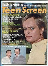 orig. USA Pop / Teen Magazine: Teen Screen August 1965
