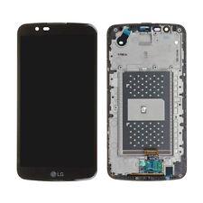 Repuesto Pantalla LCD Display Tactil CON MARCO para LG K10 Negra K410 K420 K430