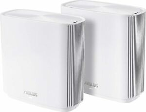 Asus ZenWiFi (CT8) AC3000 Tri-Band Whole-Home WiFi System - White (2-Pack)