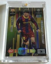 PANINI Adrenalyn super strikes 2010-11 MESSI MEGA RARE HIT $$$ GEM MINT / GOAT