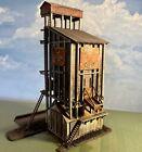 Built HO Scale Model Power Bors Coaling Station (Reading Anthracite Coal)
