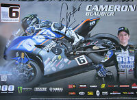 """Cameron Beaubier Signed Yamaha Mini Poster 11""""x 17"""" - 2 Posters"""