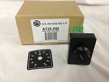 Atlas Sound AT35-RM 35 Watt Rack Mount Attenuator Volume Control