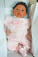 """Paradise Galleries African American Realistic Girl Baby Doll Chantilly, 20"""""""