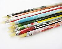 1Pc Wax Resin Rhinestones Picker Pencil Crafts Nail Art Deco Pick Up Pen Long HS