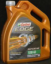 5 Liter Castrol EDGE FST TITANIUM 10W-60 Motoröl 10W60 VOLLSYNTHESE Motorenöl
