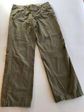 J CREW Womens Size 6 Broken-in Boyfriend City Fit Distressed Khaki Pants