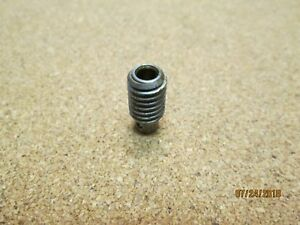 """NEW OTHER, BOSTON LSH-1 WORM, STEEL, 48 DP, 14-1/2 DG, .1875"""" B., .333"""" PITCH D."""