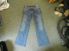 "DIESEL ryoth-n jeans vita 31 ""Gamba 31"" SFUMATI BLU SCURO DONNA JEANS"