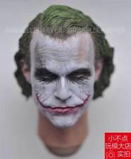 NEW 1/6 Head Sculpt MJ12 Batman Joker Headplay Heath Ledger with Heavy Makeup