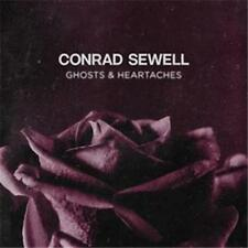 CONRAD SEWELL Ghosts & Heartaches (Personally Signed by Conrad) CD SINGLE NEW