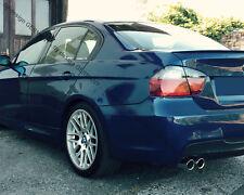 für BMW E90 Tuning M3 Spoiler Heck lip AILERON BECQUET LÈVRE Trunk LIP DIFFUSOR