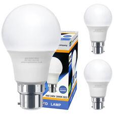 3 Pack 9W GLS LED Light Bulb B22 Bayonet Very Bright 9w = 90w Warm White