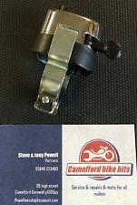 Chrom Hupe Abblendschalter 2.2cm Klassisch Motorrad Cafe Racer