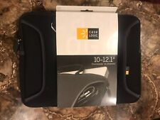 "New-Black- Case Logic 10-12.1"" Chrome Book & Ultrabooks Case/Sleeve"
