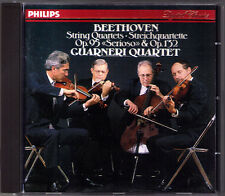 GUARNERI QUARTET: BEETHOVEN Streichquartett No.13 15 Serioso PHILIPS PDO CD 1990