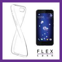 HTC U11 Case Thin SOFT Gel Ultra Clear Flexible Cases