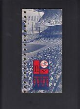 New York Yankees 1966 Vintage Press-Media Guide