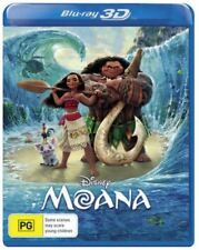 Disney Moana 3D Bluray Region Free ABC New