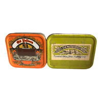 Vintage Tobacco Metal Tins EMPTY Golden Virginia Old Holborn