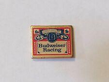 Vintage Budweiser Bud Beer Budweiser Racing Lapel Pin