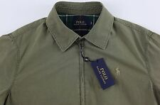 Men's POLO RALPH LAUREN Light Army Green Lined Filled Jacket XL XLarge NWoT NEW