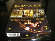 The Lord Of The Rings Trilogy - DVD - 6 Disc Box Set - Region 2 PAL - 2005