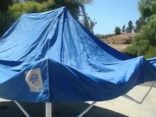 New listing Ez Up 10x15 Original Eclipse Canopy only Royal Blue Used