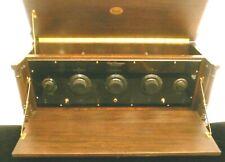 vintage  FREED EISEMANN NR-20 RADIO:  Massive SET w/ 5 GLOVE TUBES & FRONT DOOR