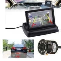 4.3 inch LCD Car Rear View Monitor + Night Vision Reverse Backup Parking Camera