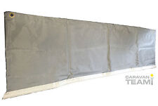 CARAVAN AWNING SKIRT WHEEL ARCH DRAUGHT COVER - TWIN AXLE