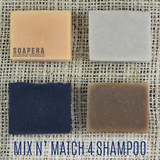 4 X Premium Shampoo Bars -all Natural Handmade Vegan Soap-