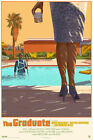 The Graduate Variant by Laurent Durieux SIGNED Ltd /67 Screen Print Poster Mondo