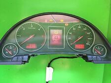 AUDI A4 B6 1.9 TDI CLOCKS, SPEEDOMETER, INSTRUMENT CLUSTER 8E0920950F TESTED