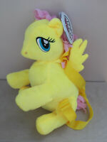 2017 My Little Pony FLUTTERSHY Soft Plush BACKPACK With Adjustable Straps BNWT