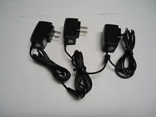 lot of 3 cell phone chargers electronics us standard plug travel back up extra