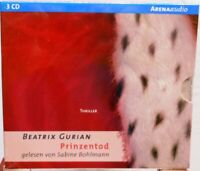 Prinzentod + Beatrix Gurian + Hörbuch auf 3 CDs + 223 Min. + Spannender Thriller