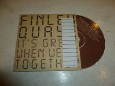 FINLEY QUAYE - It's Great When We're Together - 1997 UK CD single DJ PROMO